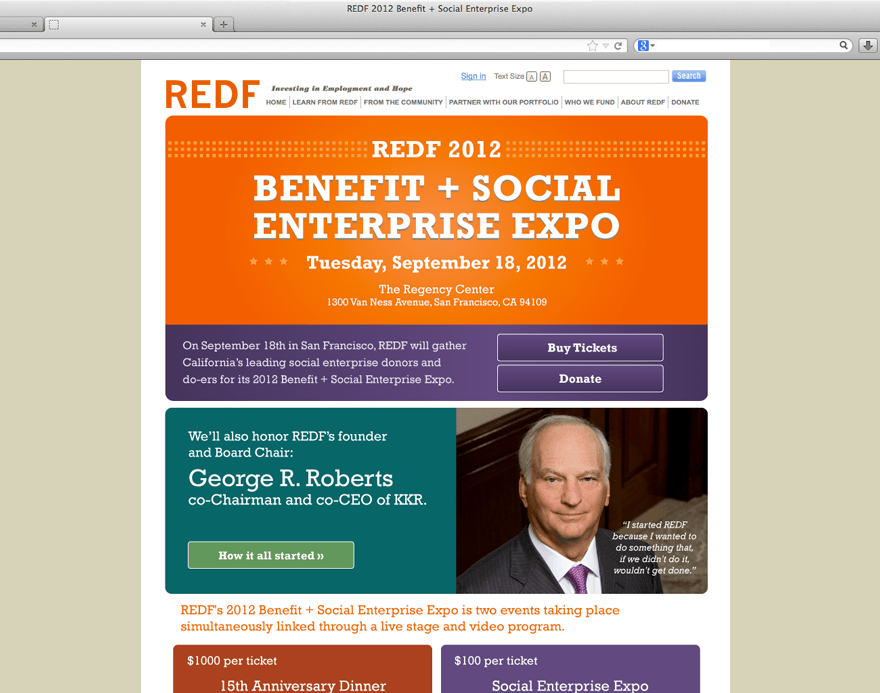 2012 SF Expo Event Branding